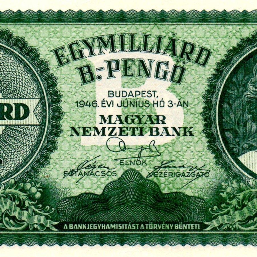 Bankjegykibocsátás az adópengő-korszakban / Issue of banknotes
