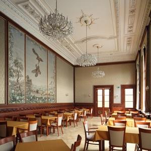 Ebéd és a Tricot- és Arundel kiállítások megtekintése / Lunch, Tricot and Arundel exhibitions