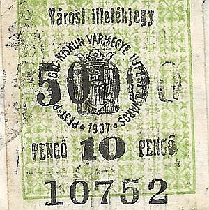 Passports, membership stamps and Ujpest documents in the Adópengő era Útlevelek, tagdíjbélyegek és újpesti dokumentumok